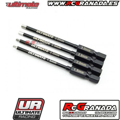 SET DE PUNTAS DE TALADRO ULTIMATE 1.5,2.0,2.5,3.0