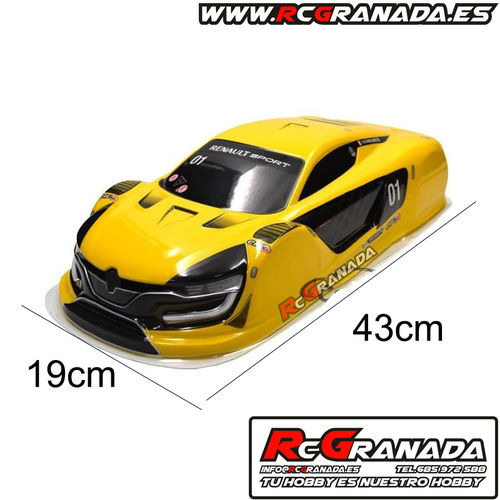 Carroceria Renault Amarilla Touring , Drift 190mm