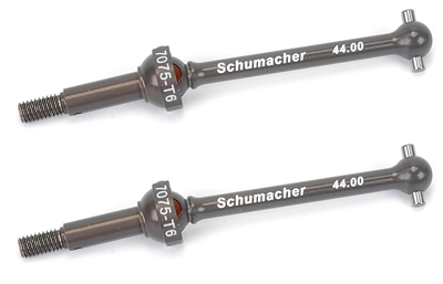 Schumacher  Mi6  Aluminium Rear Driveshafts (2 pcs)