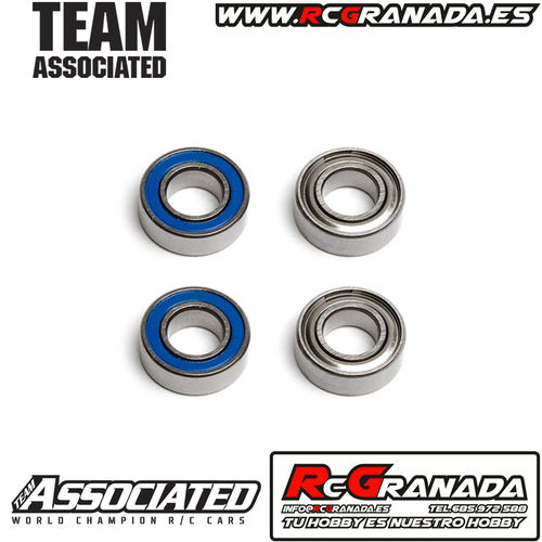 RODAMIENTOS ASSOCIATED 6X12X4MM 4UND