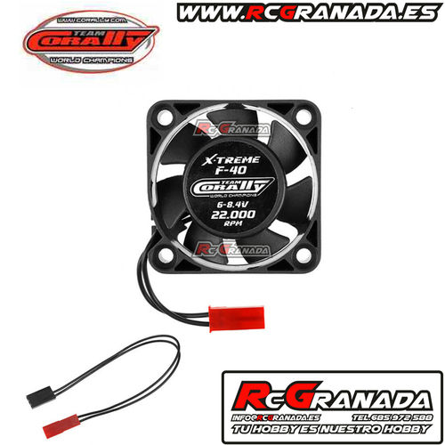 VENTILADOR TEAM CORALLY F40 40MM