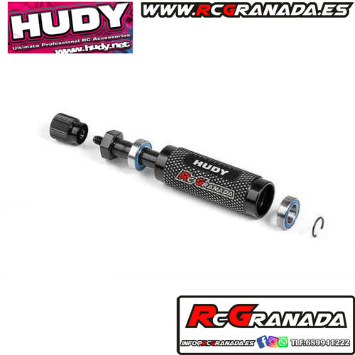 HUDY WHEEL ADAPTER FOR 1/10 TOURING CARS