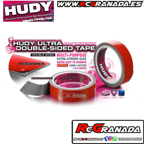 CINTA HUDY ULTRA DOUBLE SIDED TAPE