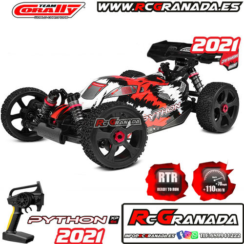 COCHE BUGGY CORALLY PYTHON XP 6S RTR 2021